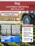 Customer Container Recycle Day