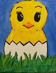 Kids Chick Painting - Grandview
