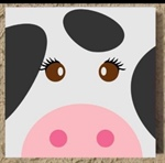 Kids Cow Painting - Sunnyside