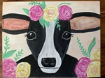 Dairy Cow Painting - Sunnyside